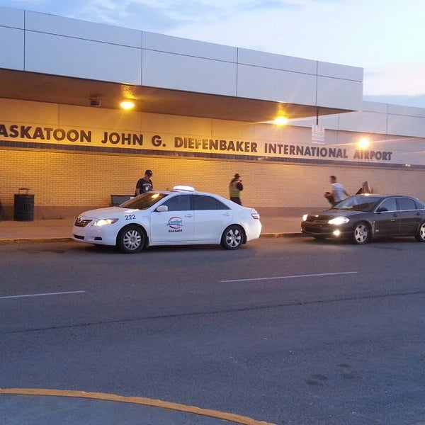 Photo taken at Saskatoon John G. Diefenbaker International Airport (YXE) by Ryan C. on 7/23/2014