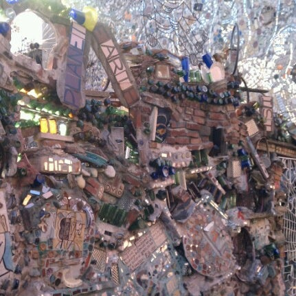 Photo taken at Philadelphia's Magic Gardens by Ashley C. on 2/9/2013
