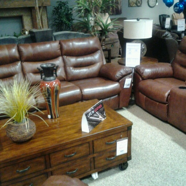 Awesome Photo Taken At Ashley Furniture HomeStore By Monica B. On 8/27/2013