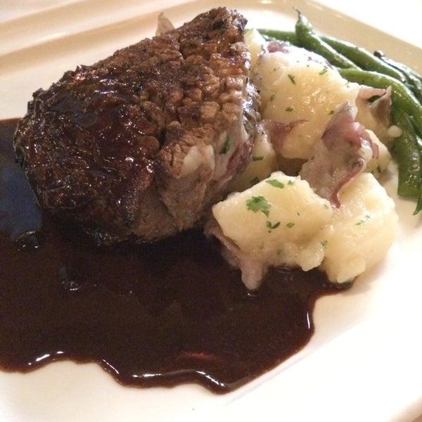 Photo taken at Al Biernat's Prime Steak & Seafood by Pat B. on 1/7/2014