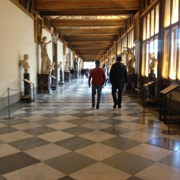 Photo taken at Uffizi Gallery by Antonio F. on 3/13/2013