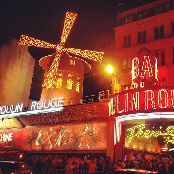 Photo taken at Moulin Rouge by Boris K. on 4/21/2013