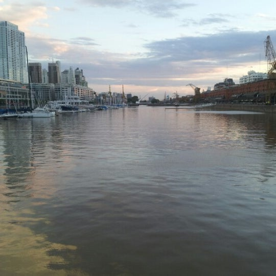 Photo taken at Puerto Madero by David S. on 1/14/2013