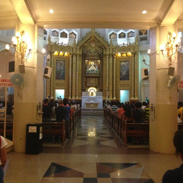 Photo taken at National Shrine of Our Lady of Peace and Good Voyage (Antipolo Cathedral) by Clyde on 8/10/2013