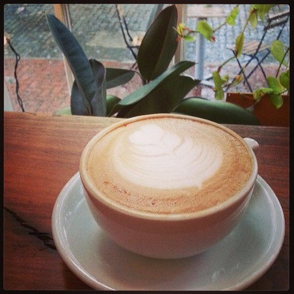 Photo taken at Bodhi Coffee by Amanda on 7/28/2013