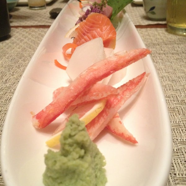 Photo taken at Wasabi Bistro at at Mandarin Oriental, Kuala Lumpur by Angelea on 2/17/2013