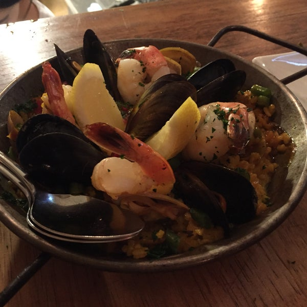 """Very tiny. The """"bar"""" is about 1 square foot but the kitchen pumps out some amazing tapas."""