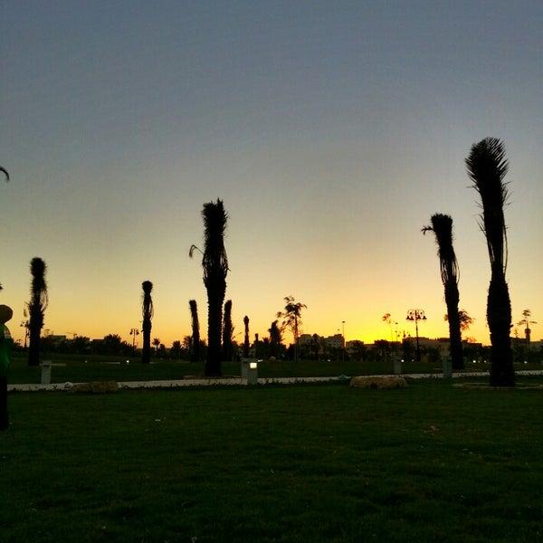 Photo taken at King Abdullah Park by Dr. Sarfraz A. on 10/12/2013