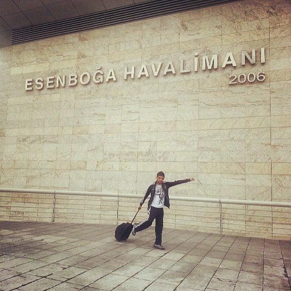 Photo taken at Ankara Esenboğa Airport (ESB) by Suleyman K. on 6/9/2013