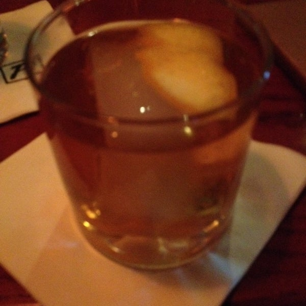Photo taken at Fleming's Prime Steakhouse & Wine Bar by Rena S. on 4/12/2014