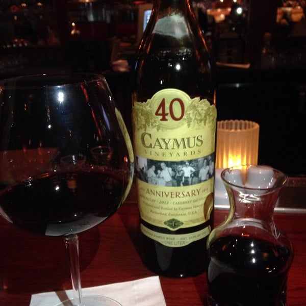 Photo taken at Fleming's Prime Steakhouse & Wine Bar by Rena S. on 8/9/2014