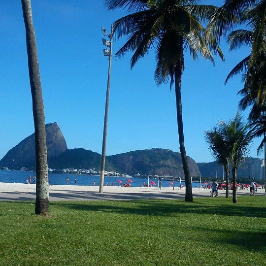 Photo taken at Flamengo Park by Thiago C. on 2/2/2013
