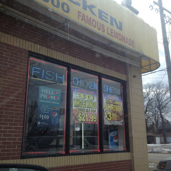 Nu wave fish chicken fish chips shop in detroit for Wave fish and chips