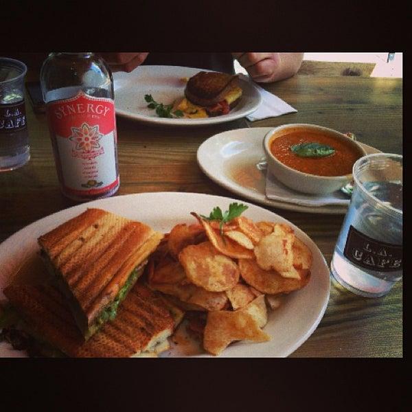 Photo taken at LA Café by Aimee💗 on 3/14/2013