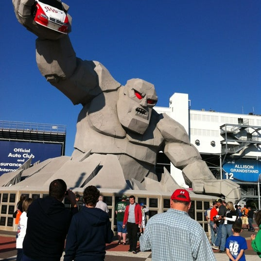 Photo taken at Dover International Speedway by Emily on 9/30/2012