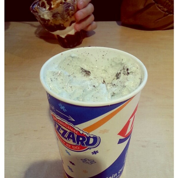Photo taken at Dairy Queen by nodame c. on 3/15/2013