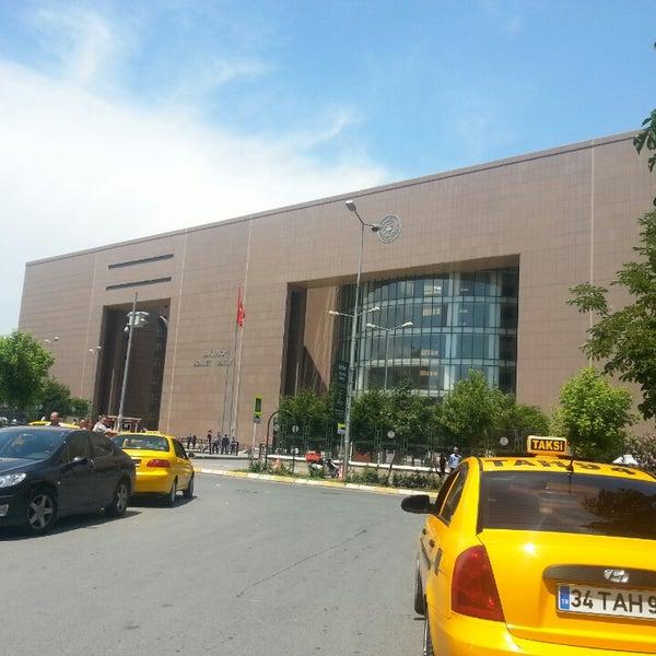 Photo taken at Bakırköy Adalet Sarayı by ilker K. on 6/7/2013