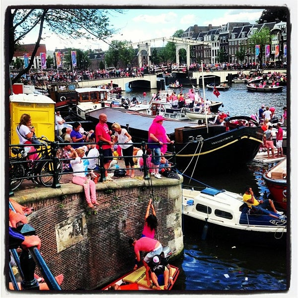 Photo taken at Amstelsluis by Fred V. on 8/3/2013