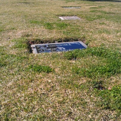 Photo taken at Oakdale Memorial Park and Mortuary by Guadalupe B. on 1/31/2013