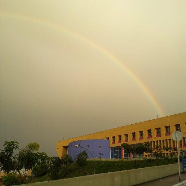 Снимок сделан в PUC Minas пользователем Fabio C. 3/14/2013