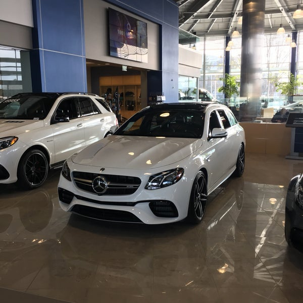 Photo Taken At Mercedes Benz Of Pleasanton By Sylvie On 1/13/2018