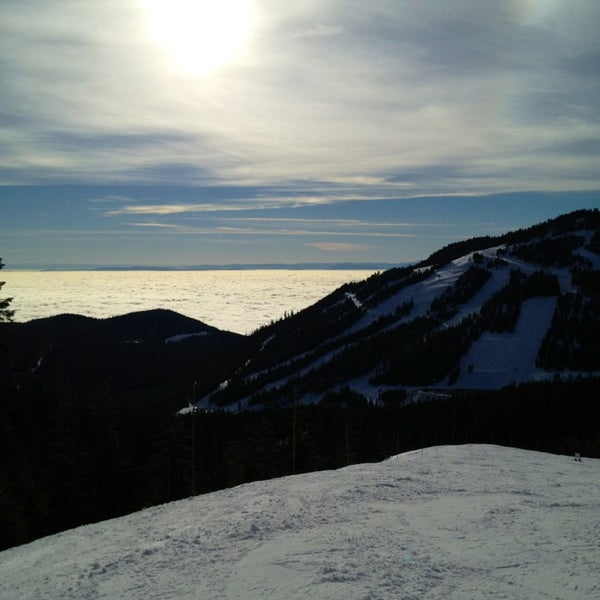 Photo taken at Cypress Mountain Ski Area by Josh on 1/20/2013