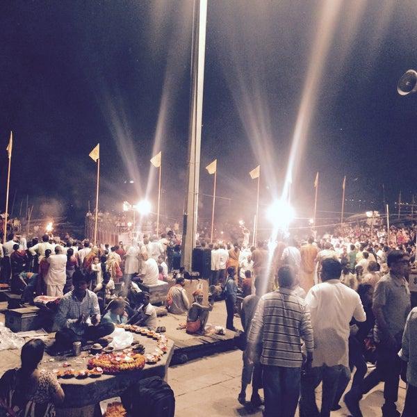 Photo taken at Dasaswamedh Ghat by Ramayya G. on 10/24/2016
