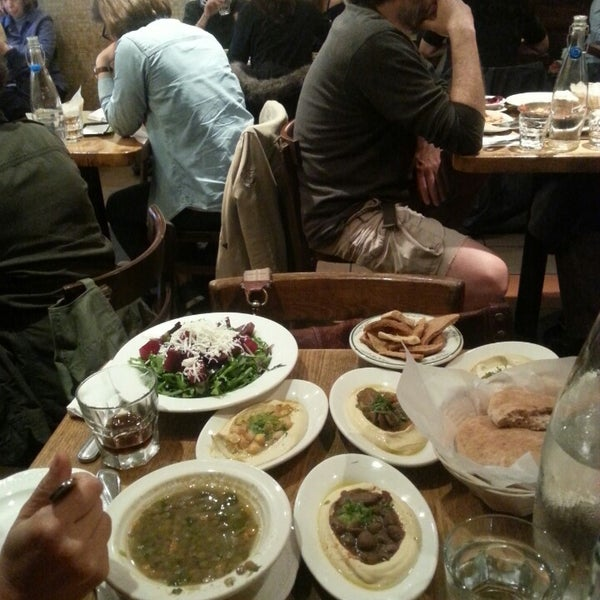 Photo taken at Hummus Place by Francisco A. on 10/31/2013