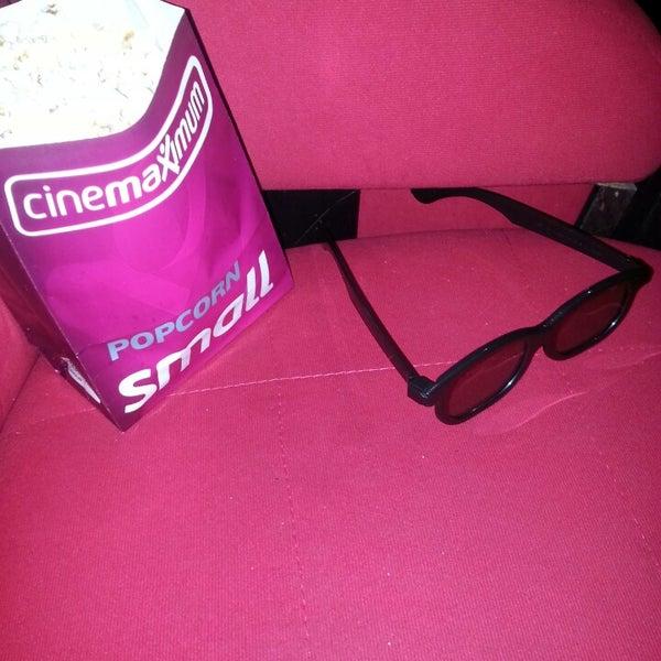 Photo taken at Cinemaximum by Ali K. on 5/11/2013