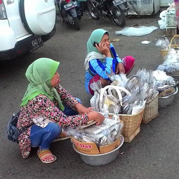 Photo taken at Pantai Barat Pangandaran by Agung A. on 5/15/2016