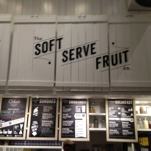 Photo taken at Chloe's Soft Serve Fruit Co. by Chris on 4/22/2013