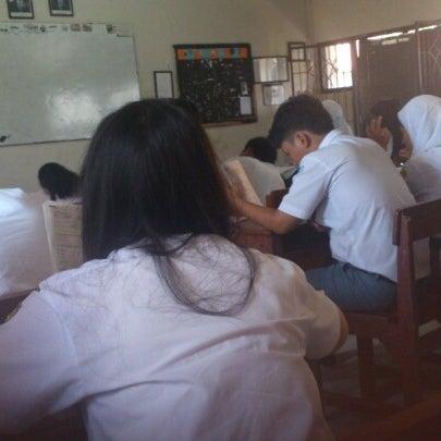 Photo taken at SMA Negeri 4 Semarang by Abdullah S. on 11/29/2012