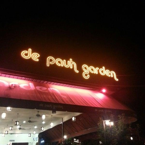 Photo taken at De Pauh Garden Restaurant & Cafe by Shukor F. on 7/21/2013