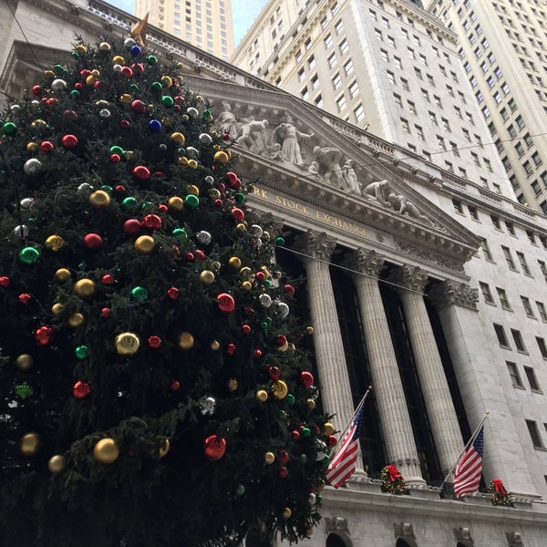 Photo taken at NYSE Euronext by Anne B. on 11/29/2015