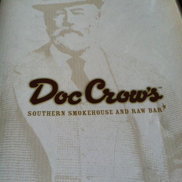 Photo taken at Doc Crow's Southern Smokehouse & Raw Bar by Cody G. on 6/19/2013