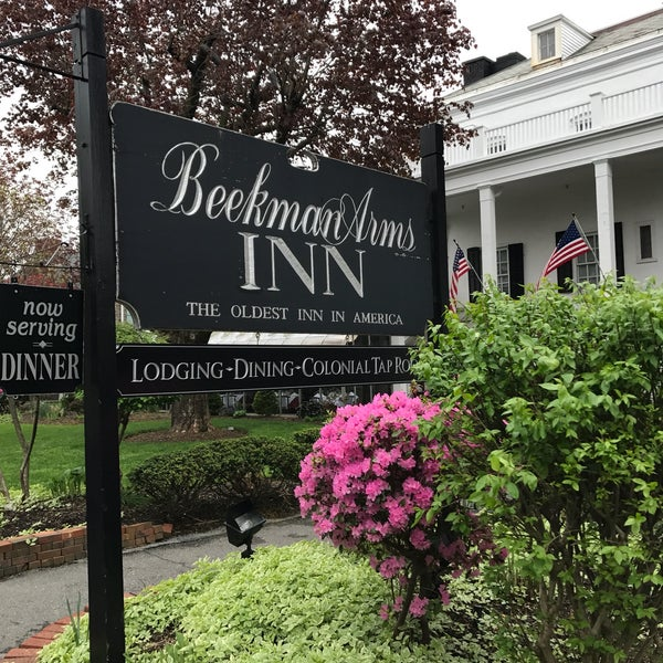Photo taken at Beekman Arms-Delamater Inn by Heather P. on 4/30/2017
