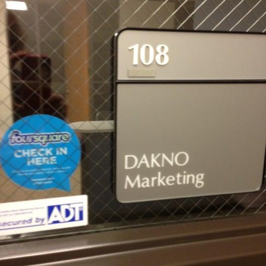 Photo taken at Dakno Marketing by Ellen on 11/20/2012
