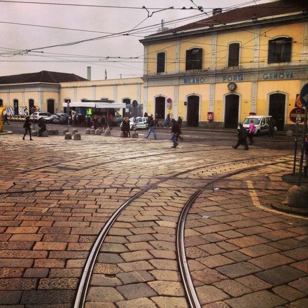Stazione milano porta genova navigli piazza stazione - Carabinieri porta genova milano ...