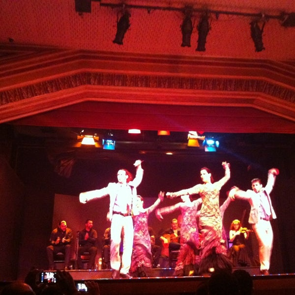 Photo taken at Palacio del Flamenco by Erdem K. on 3/29/2013