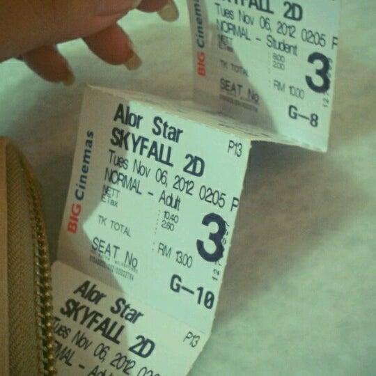 Photo taken at Big Cinemas by Soowen O. on 11/6/2012