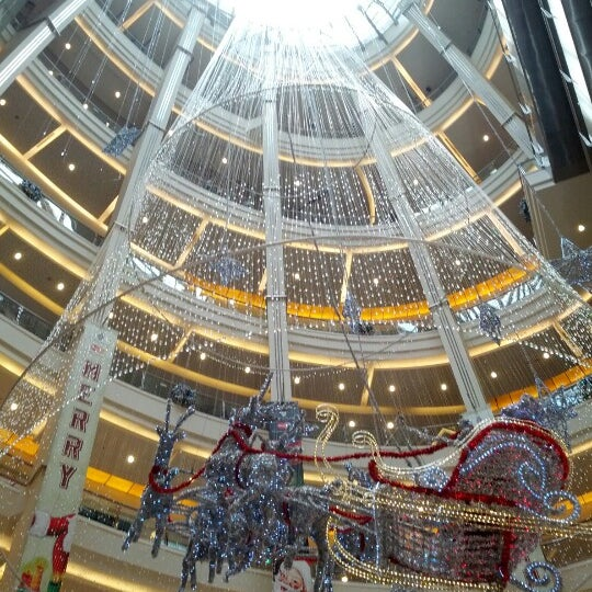 Photo taken at Pacific Place by Natania S. on 12/24/2012