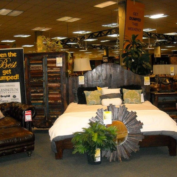 Photo Taken At The Dump Furniture Outlet By Nathan S. On 10/15/