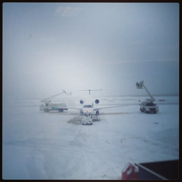 Foto tomada en Burlington International Airport (BTV) por Erika el 1/28/2013