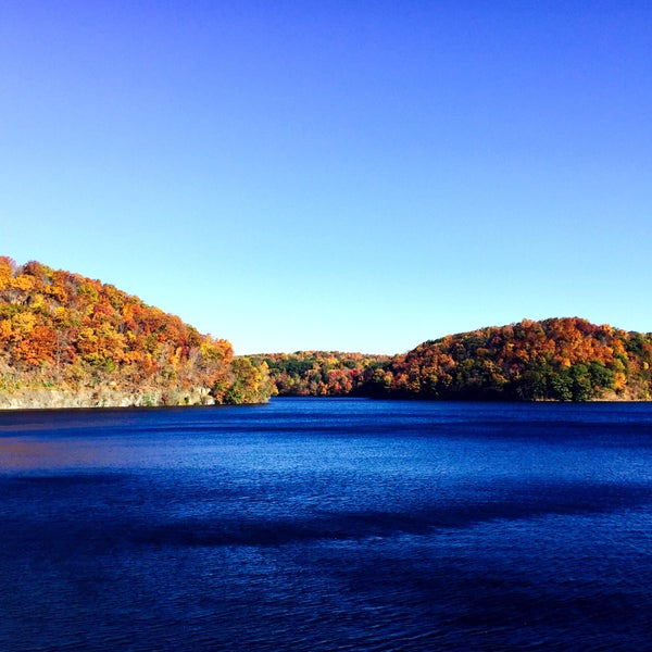 Photo taken at Croton Gorge Park by Grace H. on 10/24/2016