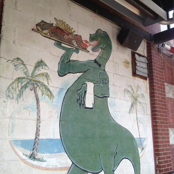 Photo taken at Dinosaur Bar-B-Que by Samuel G. on 5/23/2013
