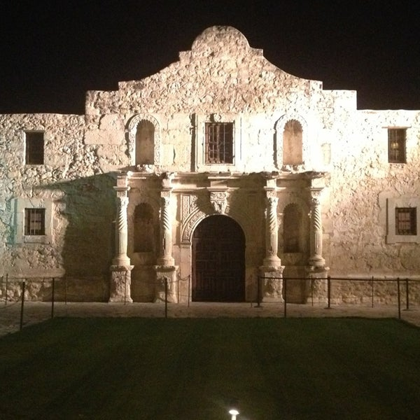 Photo taken at The Alamo by Brian W. on 2/17/2013