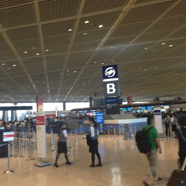 Photo taken at Narita International Airport (NRT) by Jaiah K. on 5/23/2013