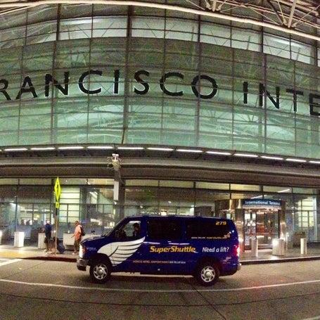 Photo taken at San Francisco International Airport (SFO) by Carolina A. on 11/24/2013