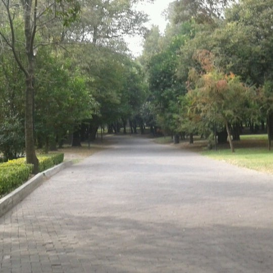 Photo taken at Bosque de Chapultepec by Lau C. on 11/2/2012