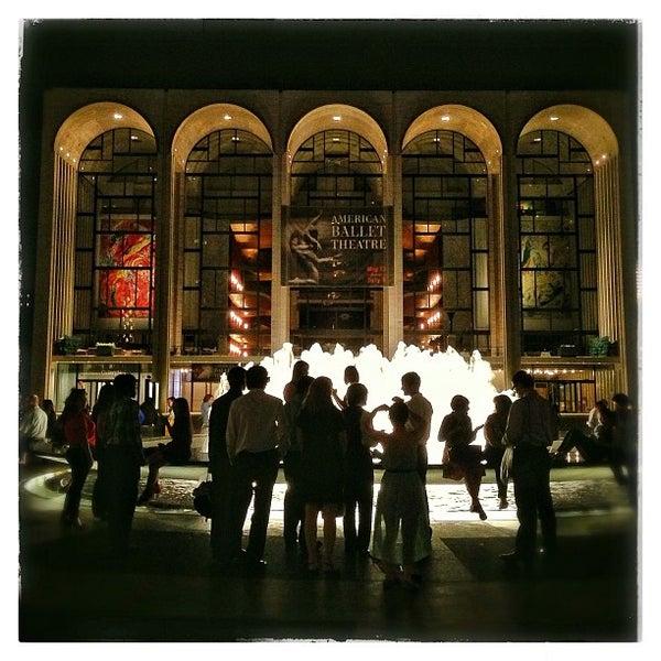 6/9/2013にArturoがLincoln Center for the Performing Artsで撮った写真